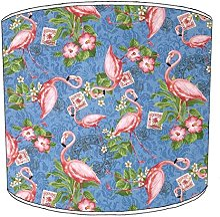 25,4cm Table flamingo abat-jour 15