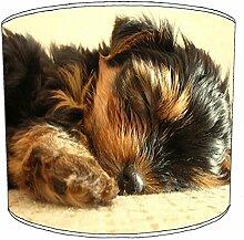 25,4cm Table yorkshire terrier abat-jour 7