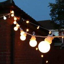 25 ampoule LED guirlandes lumineuses extérieur