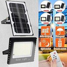 250W 400W 600W 1000W LED solaire projecteur avec