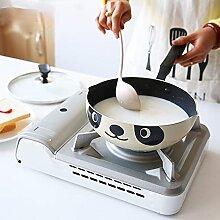 26 cm Panda Pot Style japonais Cuisinière à