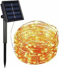2M 20Led extérieur à énergie solaire fil de