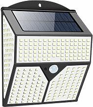 2PCS 436LED Lumière solaire Sécurité Murale