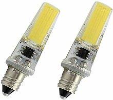 2pcs de E11 Led lumière de l'ampoule, 220v