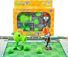 2pcs / lot plantes vs zombie 2 jouets anime Figure