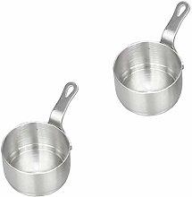 2pcs marmite portable outils de cuisson pot de
