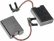 2x balai de charbon pour moteur électrique 6,3 x
