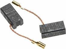 2x Balais de charbon pour moteur électrique 16,3