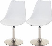 2x chaise de séjour/salle à manger Malmö T501,