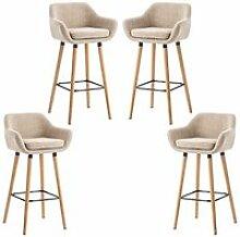 2X Chaise haute de bar Grant Tabouret de Bar