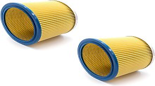 2x Filtre rond / filtre en lamelles pour