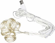 2x2M LED chaîne lumière Rideau Lampe USB chaîne
