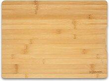 3 Claveles 04666 Planche à découper en bambou