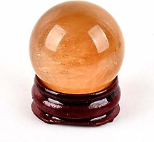 3 cm Naturel Orange Calcite Sphère Cristal Boule