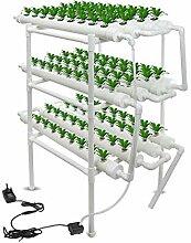 3 couches hydroponique Equipement de plantation,