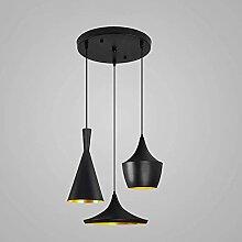 3-Flamme Hauteur Compréhensible Plafond Lampe E27