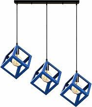 3 Lampes Suspension Luminaire Moderne Lustre