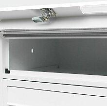 3 letterbox blanc PO Box 3 compartiments se