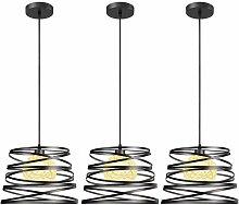 3 Pack Suspensions Luminaires Modernes, iDEGU