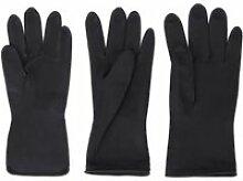 3 paires de gants en caoutchouc Latex
