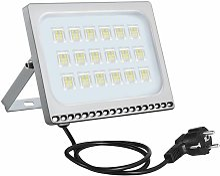 3 PCS 100W 6ème génération de lampadaire