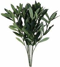 3 pièces artificielle feuilles d olivier avec