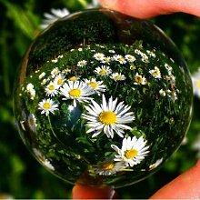 30/40/50/60mm verre clair boule de cristal