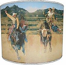 30,5cm Table cowboy style abat-jour 7