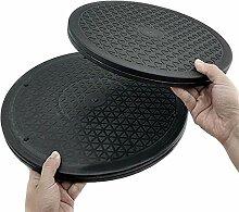 30 cm de diamètre en PVC double face roulements