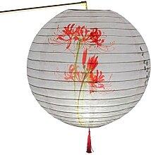 30 cm rond papier lanterne abat-jour chinois Style