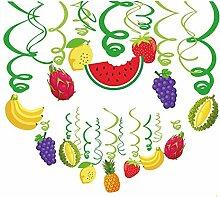 30 Pcs Fruit Décorations de Fête
