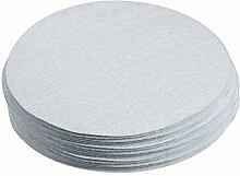 30 pièces 5 pouces oxyde d'aluminium blanc