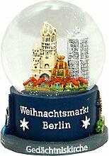 30017 Boule a neige Souvenir Allemagne marché de