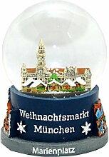 30021 Boule a neige Souvenir Allemagne marché de