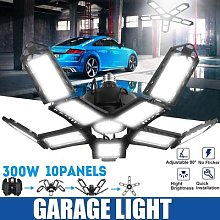300W Déformable Éclairage Industriel E27