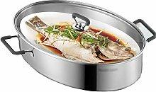 304 en acier inoxydable pot poisson cuit à la