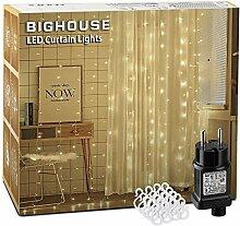 306 LED Guirlande lumineuse, 3M x 3M Rideau