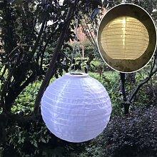 30cm LED solaire chinois lanternes étanche