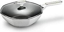 32cm wok casserole antiadhésif, cuisine
