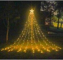 350LED Noël Arbres étoile Lumières de