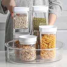 360 rotatif cuisine étagère de rangement épices