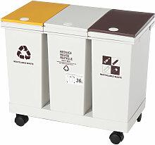 36L Poubelle déchets de stockage des déchets au