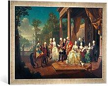 'Encadré Image de J.H. Pied de Table d.Ä.