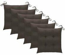 ♫3970 Lot de 6 Coussins de chaise Contemporain
