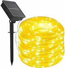 39ft Solaire Ruban Lumineux ,DINOWIN 100 LED