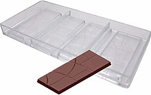 3D Chocolat Blocs Moules, Uni Barre Polycarbonate