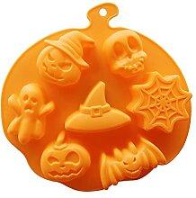 3D gâteau moulage halloween moules silicone de la