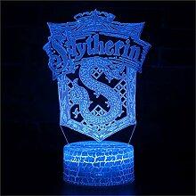 3D Illusion Lamp Christmas Gift Night Light