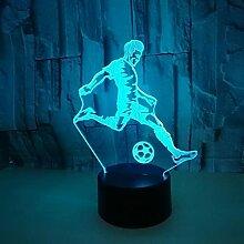 3D Illusion Lampe Led Veilleuse 1Pc Usb Puissance