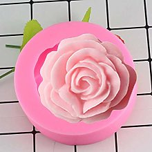3D Rose Shape Mold Silicone Chocolate Mould Tray
